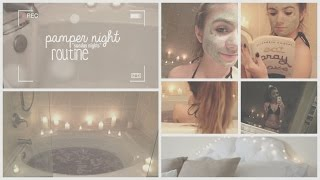 getlinkyoutube.com-Pamper Night Routine ♡