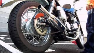 getlinkyoutube.com-Triumph Bonneville T100 Sixty  NOMAN HYDE・TOGA