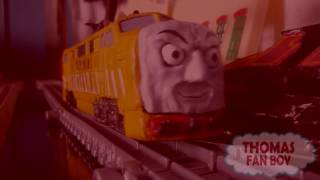 getlinkyoutube.com-Trackmaster Thomas & The Magic Railroad - Junior & James Escape From Diesel 10