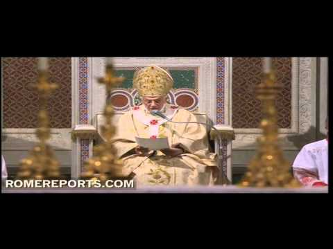 Pope's homily for Holy Thursday Mass at St  John Lateran