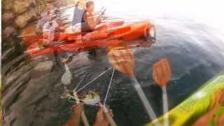 getlinkyoutube.com-Peruá no Mexilhão em Itaipú - Pesca com Caiaque - Kayak Fishing - Leogafanha