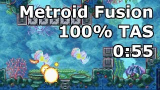 "getlinkyoutube.com-[TAS] GBA Metroid Fusion ""100%"" in 1:35:19.3 (0:55 in-game) by BioSpark"
