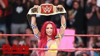 Sasha Banks vs. Charlotte - WWE Women's Championship Match: Raw, July 25, 2016 width=