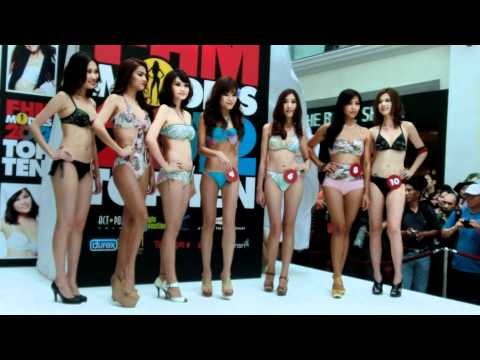 FHM Model Singapore 2012 Top 10 -Triumph / Swimwear Part 2