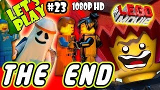 getlinkyoutube.com-Let's Play LEGO Movie - Part 23: THE END - Lord Business Final Boss Battle | Walkthrough Wii U