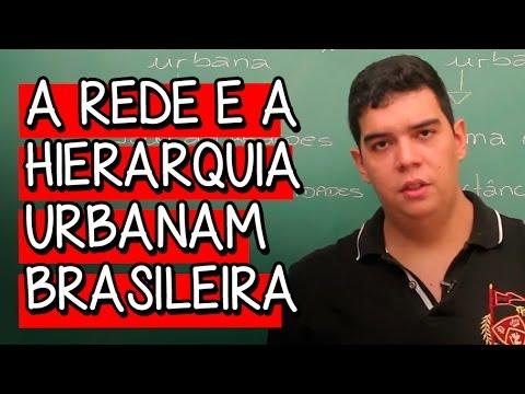 A Rede e a Hierarquia Urbanam Brasileira - Extensivo Geografia | Descomplica