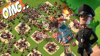 getlinkyoutube.com-Pushed To The Limit! | Defending Hammerman Attacks | Boom Beach