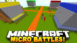 "getlinkyoutube.com-Minecraft MICRO BATTLES ""THE END!"" #25 - w/ PrestonPlayz, PeteZahHutt & Kenny"