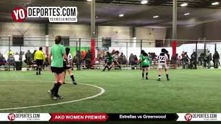 Estrellas vs Greenwood AKD Premier Academy Soccer League