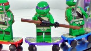 getlinkyoutube.com-sy 닌자거북이 도나텔로 레고 닌자터틀 짝퉁 미니피겨어 Donatello 조립기