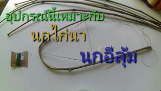 getlinkyoutube.com-วิธีทำแร้วหรือแฮ้วดักนกแบบง่ายโดยไม่ต้องเหลาไม้