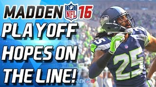 getlinkyoutube.com-PLAYOFFS ON THE LINE! HAIL MARY OVERTIME THRILLER! - Madden 16 Ultimate Team