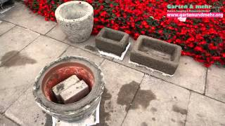 getlinkyoutube.com-Blumenkästen aus Beton - selber bauen