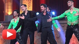 getlinkyoutube.com-Best Moments : Salman Khan Shahrukh Khan Host Star Screen Awards 2016