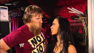 getlinkyoutube.com-Daniel Bryan and a soaked AJ Lee are at odds again: SmackDown, March 8, 2013