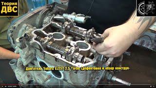 getlinkyoutube.com-Теория ДВС: Двигатель Subaru EJ257 2.5 Turbo (дефектовка и обзор конструкции)
