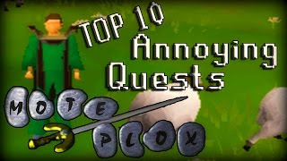 getlinkyoutube.com-Top 10 Most Annoying Quests In RuneScape