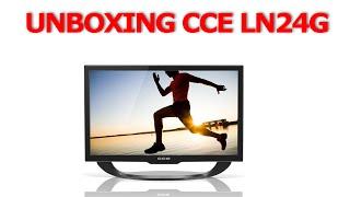 getlinkyoutube.com-Unboxing e teste rápido: TV CCE LN24G