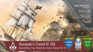 Assassin's Creed 4 Black Flag 101 Trailer