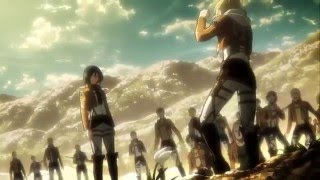 getlinkyoutube.com-▸ Mikasa Vs Annie Training (extra scene) Aot || Snk ENGLISH SUB