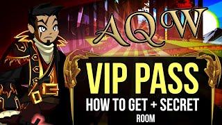"=AQW= How to Get The ""VIP Pass"" + Unlock Secret Room!"