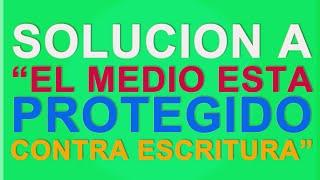 getlinkyoutube.com-Solucion a El medio esta protegido contra escritura.