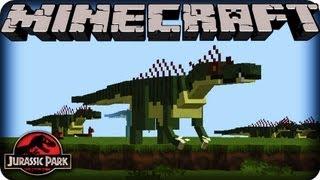 getlinkyoutube.com-Minecraft Dinosaurs - JURASSIC PARK - SEASON 2!  Ep # 1 DANGEROUS DINOSAURS!