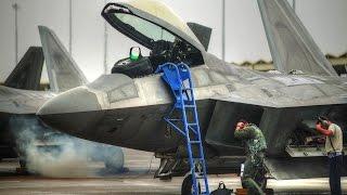 getlinkyoutube.com-F-22 Preflight Checks, Startup, and Takeoff