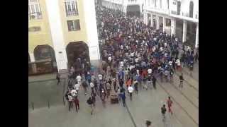 getlinkyoutube.com-ڤيديو الرعب والإستفزازوالتخريب الذي أحدثه جمهورالجيش بالبيضاء casablanca 11 avril 2013