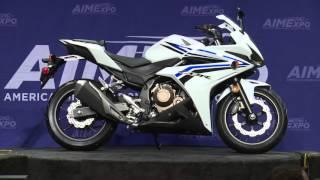 getlinkyoutube.com-2016 Honda CBR500R at AIMExpo 2015