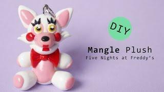 getlinkyoutube.com-Five Nights at Freddy's 2 Mangle Plush Polymer Clay Tutorial