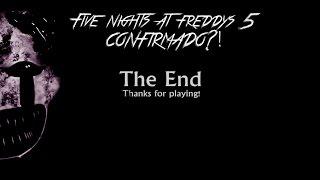 getlinkyoutube.com-FIVE NIGHTS AT FREDDYS 5!!?-NUEVA IMAGEN EN SCOTT GAMES!!