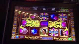 getlinkyoutube.com-DaVinci Diamonds $20 Bet Bonus BIG WIN!!!  Retriggers! High Limit Slot Machine Pokie