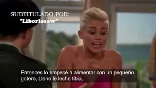 getlinkyoutube.com-Miley Cyrus - En Two And A Half Men Capitulo Completo Subtitulado En Español Parte 4