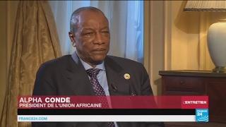 Entretien Alpha Condé avec France 24