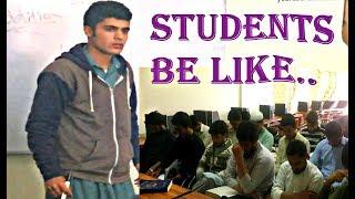 Students | Pashto Funny Video 2018