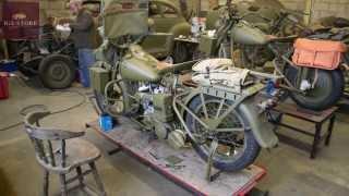 getlinkyoutube.com-Harley Davidson WLC time-lapse restoration