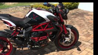 getlinkyoutube.com-MV Agusta Lewis Hamilton Dragster 800 RR. LH44 Walk around Part 2