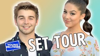 """getlinkyoutube.com-Set Tour of Nickelodeon's """"The Thundermans"""" with the Cast!"""