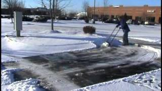 getlinkyoutube.com-Snow Pusher Shovel - Commercial use of The Snowcaster