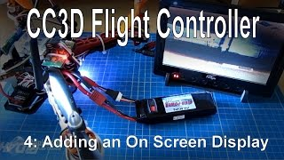 getlinkyoutube.com-(4/10) CC3D Flight Controller - Adding an OSD using MinimOSD