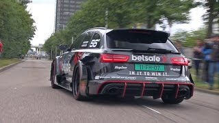 getlinkyoutube.com-1000HP Audi RS6 DTM - REDLINE Revs + Accelerations!