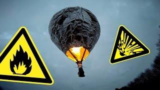 Modellballon aus Alufolie und Haarspray | DIY