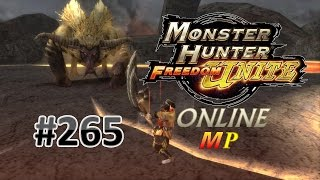 getlinkyoutube.com-Monster Hunter Freedom Unite Online MP #265 | Tigrex and Rajang [G Rank]