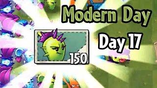 getlinkyoutube.com-Plants vs Zombies 2 - Modern Day - Day 17: Dusk Lobber