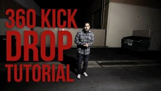 How to Breakdance | 360 Kick Drop | Poe One (Style Elements)