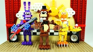 getlinkyoutube.com-How To Build LEGO FNAF Show Stage | LEGO Five Nights at Freddy's custom set