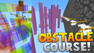 getlinkyoutube.com-Minecraft OBSTACLE COURSE PARKOUR 4! | (NEW 1.9 JUMPS & MORE)