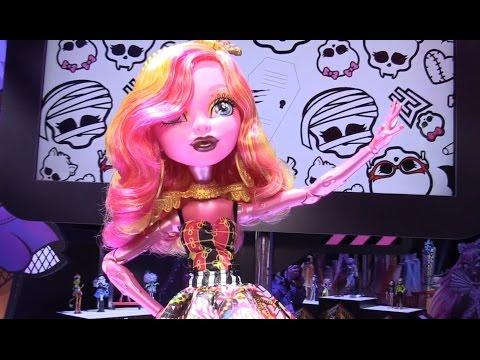 New Monster High dolls revealed at New York Toy Fair 2015 from Mattel