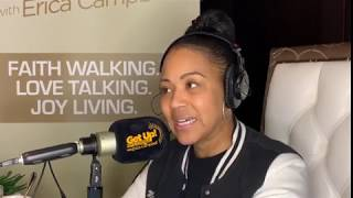 Erica Campbell Opens Up About Being Nervous In The Studio